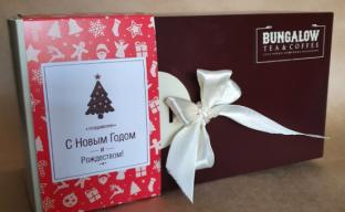 Подарочная упаковка для жестебанок с декором к Новому году