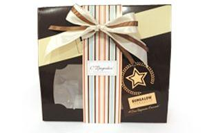Коробка Подарочный набор Bungalow с декором к празднику