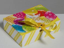 Коробка подарочная складная «С Днём рождения!» (3222427)