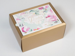 Коробка складная «Цветочная» (6582038)